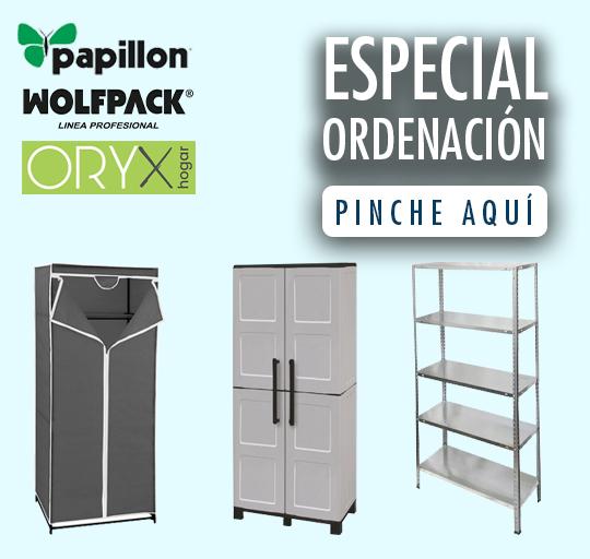 Especial ordenacion:ORYX,PAPILLON,WOLFPACK
