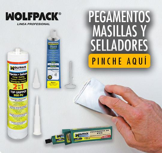 Pegamentos, Masillas y selladores:WOLFPACK