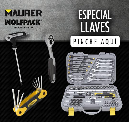 Especial llaves: MAURER,WOLFPACK
