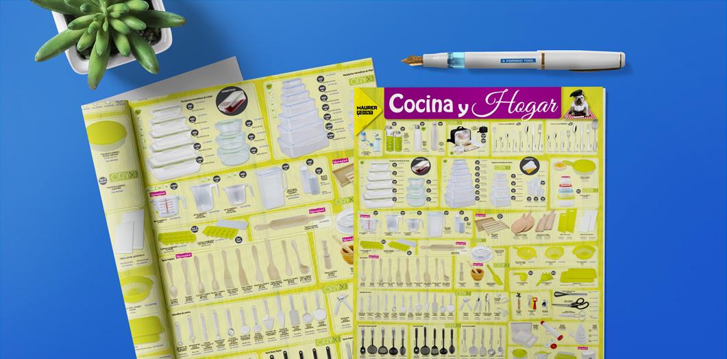 Cartel Cocina y Hogar 2019