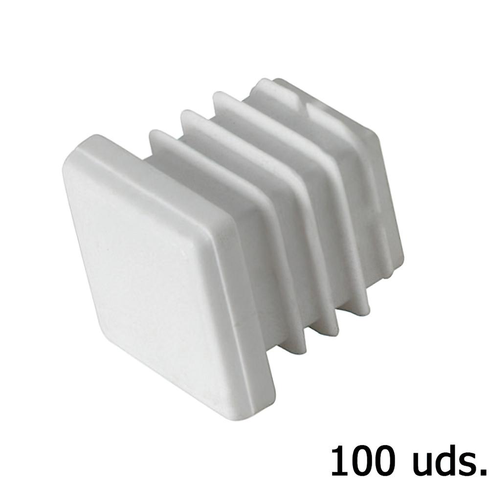Contera plastico cuadrada 22x22 mm bolsa 100 unidades - Conteras de plastico ...
