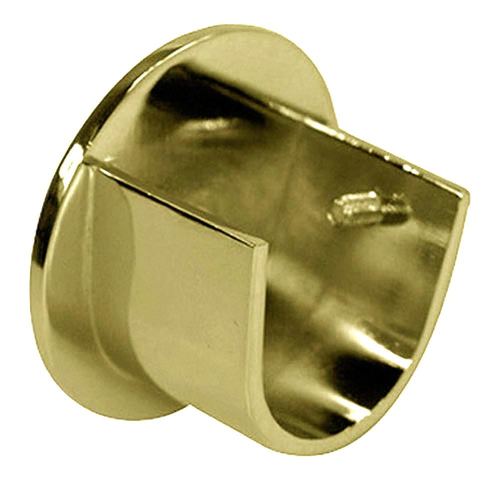 Soporte zirconio lateral 28 mm bronce viejo 2 piezas aft for Soportes para colgar cortinas