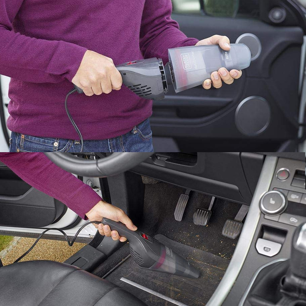 Aspirador Black & Decker Dustbuster Auto NVB 12 AV