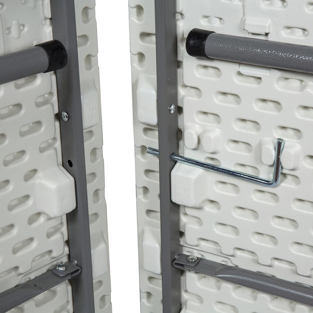 Mesa Plegable Rectangular 242x76x74cm