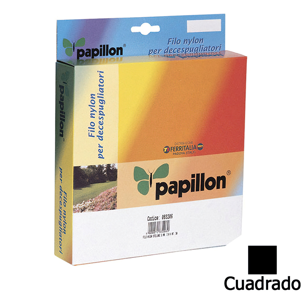 Hilo Nylon Cuadrado 3,0 mm. (Dispensador 50 metros)