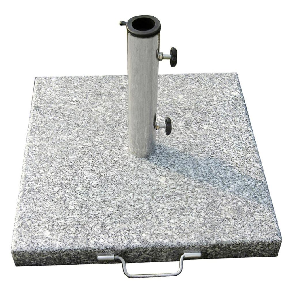 Base Sombrilla Granito 20 kg. / 400x400 mm.