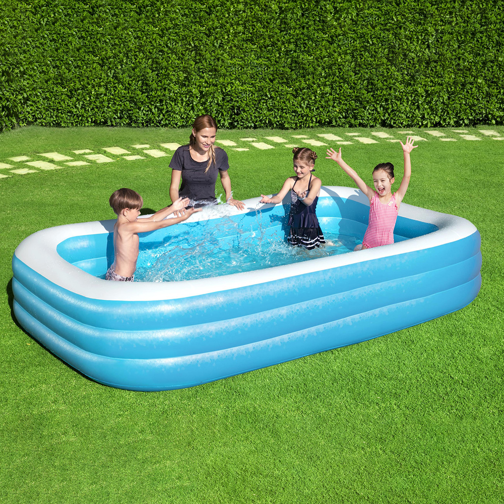 piscina inflable rectangular 305x183x56 cm aft a On piscina inflable infantil