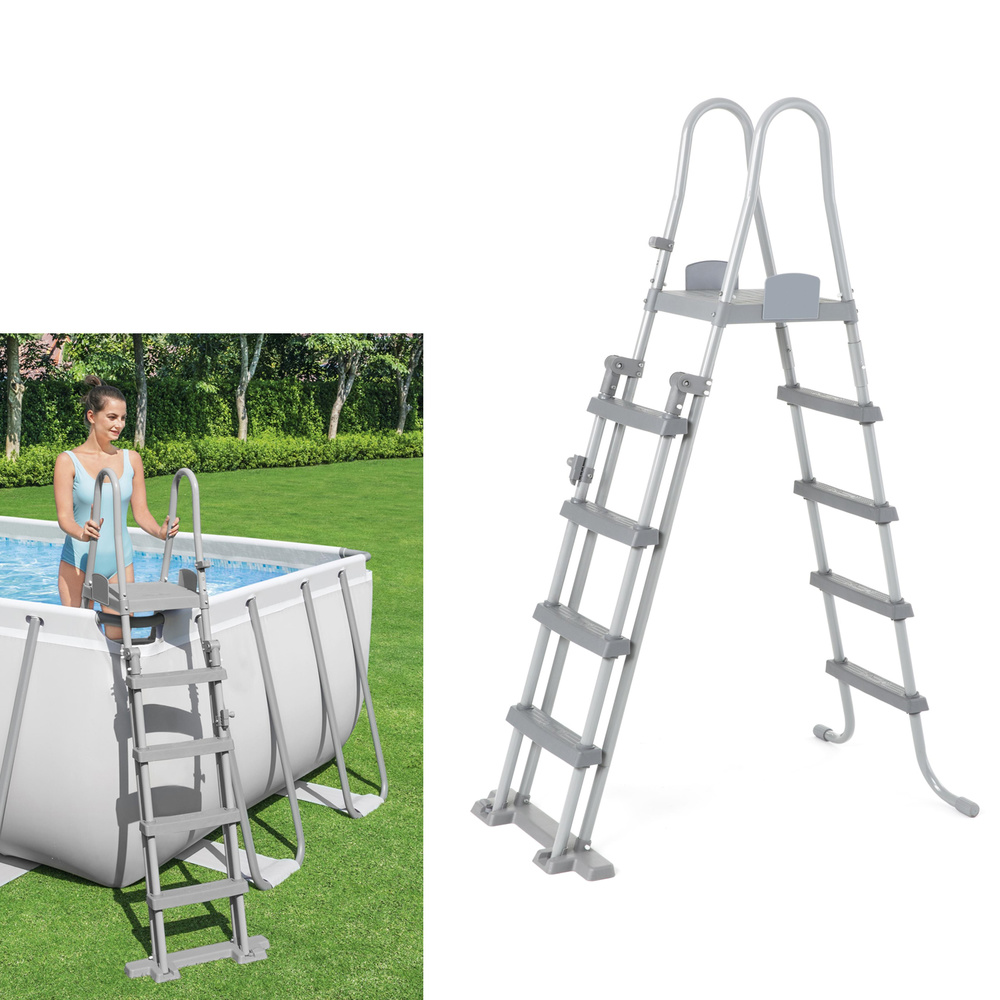 Escalera piscina alto 132 cm aft a forged tool for Escalera piscina