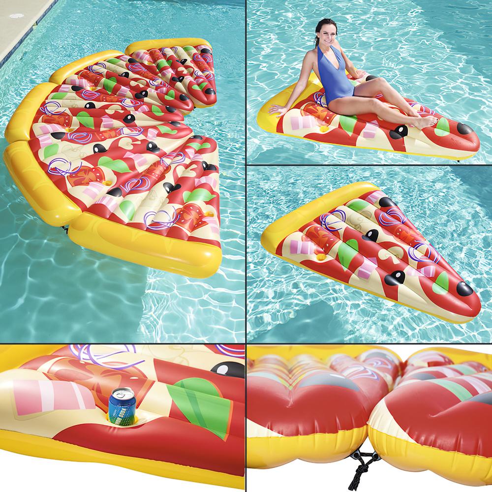 Flotador Trozo Pizza Gigante 188x130 cm