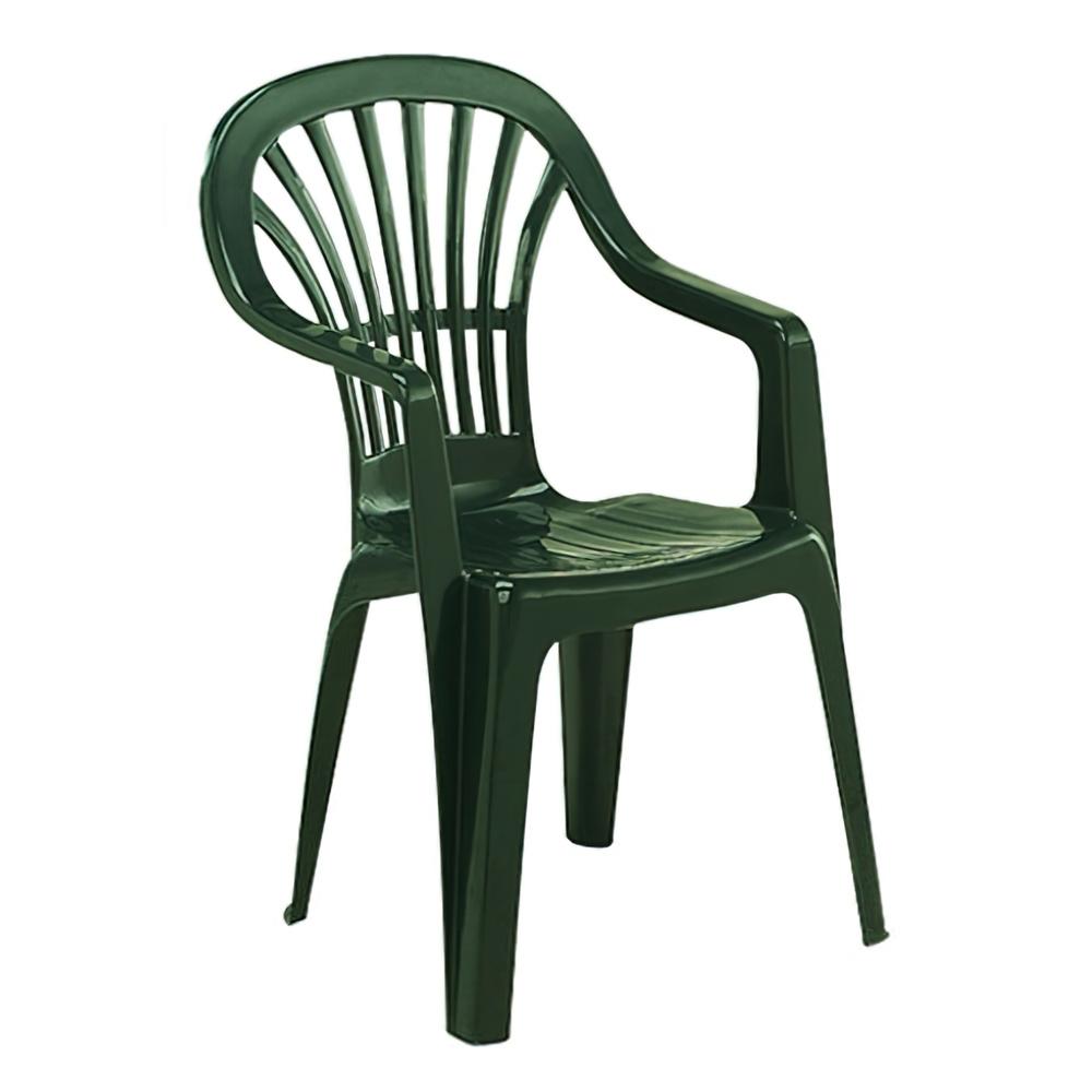 Silla resina monobloc ralto verde zena aft a forged tool - Sillas resina jardin ...