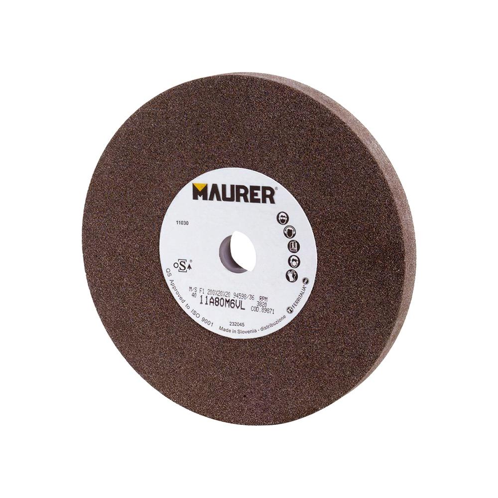 Muela Maurer Corindon 150x20x32 mm. Grano 80