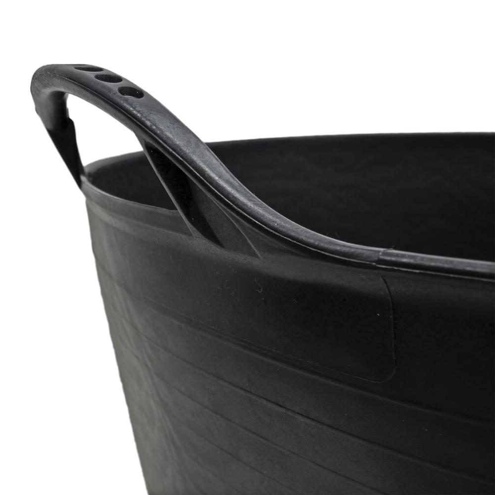 Capazo Plastico Negro Numero 4 55 Litros