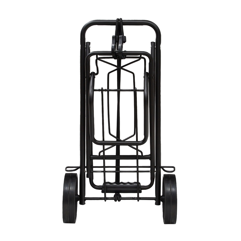 Carretilla Plegable de Carga - Porta Maletas Con Cuerda Elastic 93,5x33x44 cm. Hasta 50 Kg.