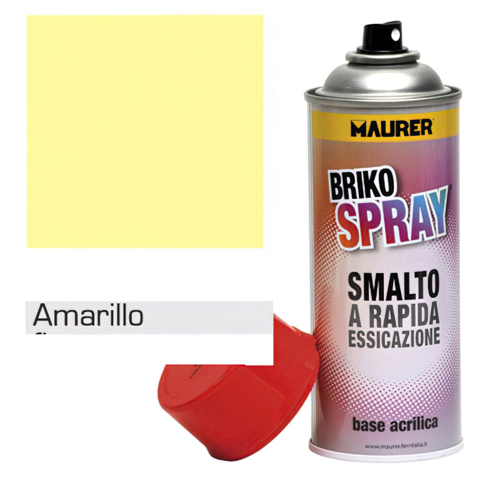Spray Pintura Amarillo Claro Trafico 400 ml.