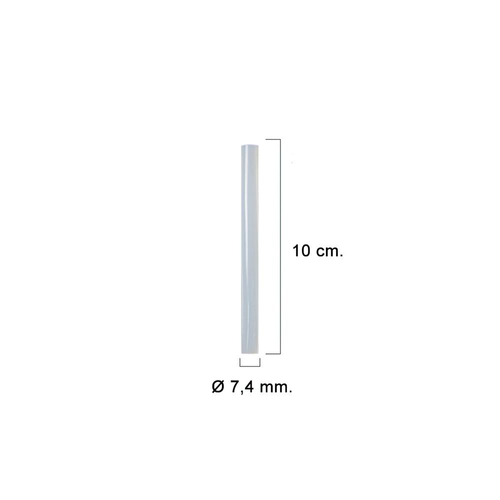 Silicona En Barra Maurer (Blister 12 Unidades)  Ø 7,4mm