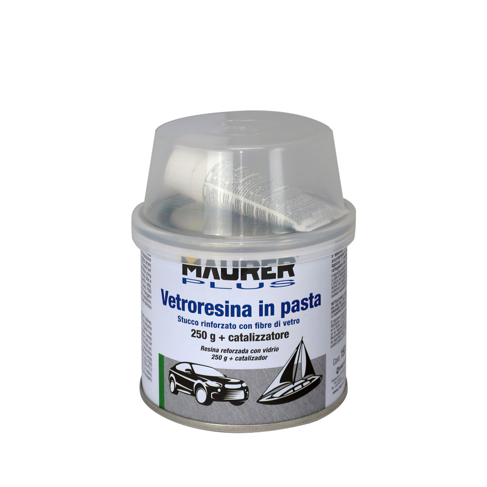 Masilla Fibra Vidrio 150 ml. (Con Endurecedor)