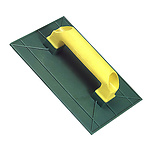 Talocha plástico 275x185 mm. Amarilla   275x185 mm.