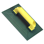 Talocha plástico Lisa 360x190 mm.amarilla