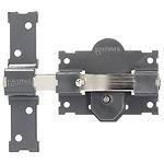 Cerrojo b-3 llave y pulsador pasador de 161mm cilindro redondo de 70mm