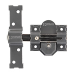 Cerrojo b-7 llave y pulsador pasador de 143mm cilindro de pera de 50mm