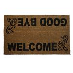 Felpudo Fibra Coco Welcome 45x75 cm.