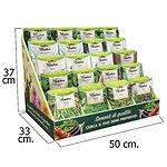 Expositor Semillas Aromaticas de Sobremesa 200 piezas