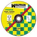 Disco Wolfpack Piedra 115x3,2x22 mm.