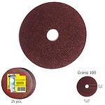 Disco Lija Hierro 125x22 mm. Grano 100