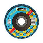 Disco Laminas Wolfpack Circonio 115x22 mm. Grano 120