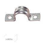 Grapa Metalica 2 Patas     22 mm. Wolfpack Caja 100 unidades