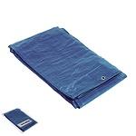 Lona Impermeable Azul Con Ojetes Metálicos 5 x 6 Metros (Aproximadamente)