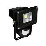 Foco Led Con Sensor  10 W. 4000°K   750 Lumenes IP65