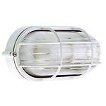 Plafón Industria  IP54l Oval Blanco
