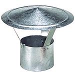 Sombrero Galvanizado Para Estufa de 120 mm.