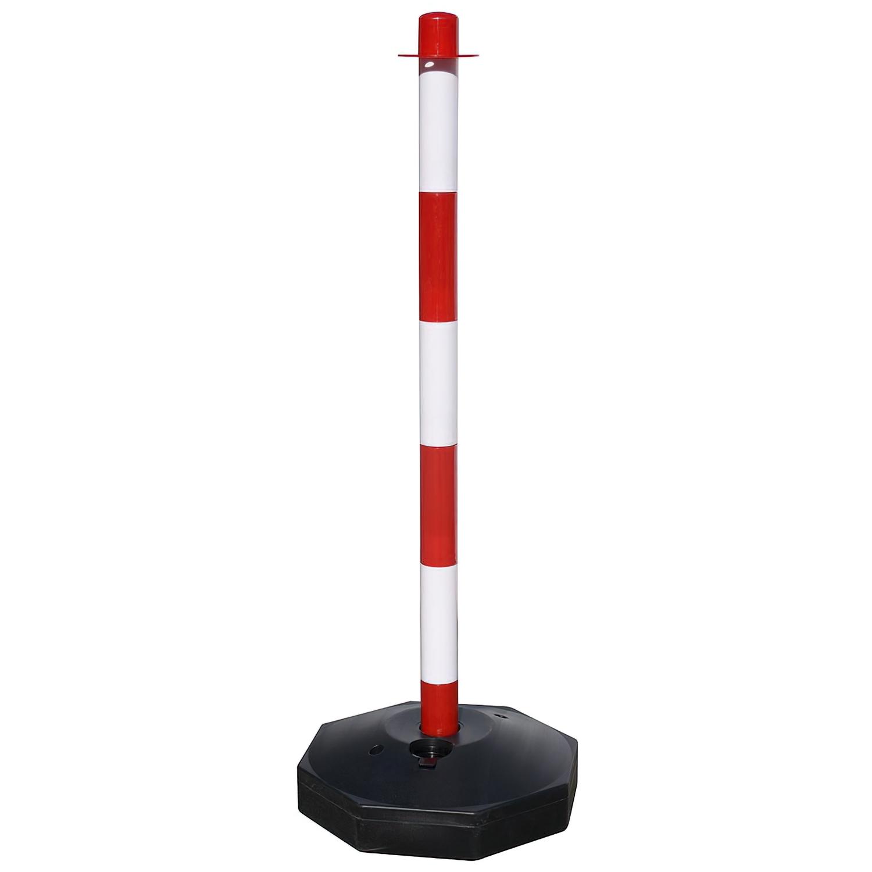 Poste Para Cadena Plastico 90 cm. Con Base