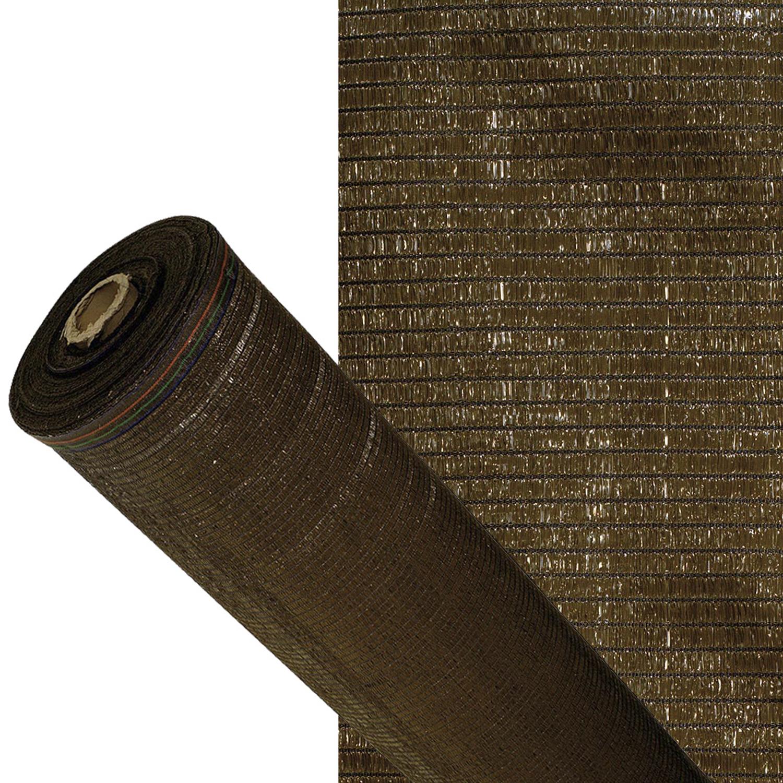 Malla Sombreo 90%, Rollo 1 x 50 metros, Reduce Radiación, Protección Jardín y Terraza, Regula Temper