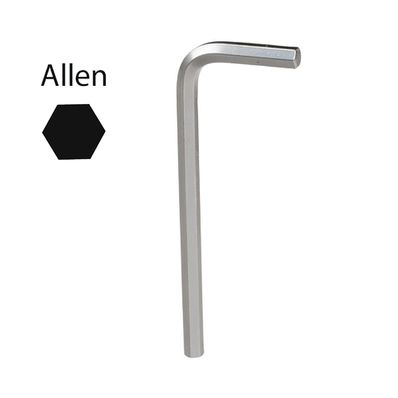 Llave Allen Maurer Cromo Vanadio Profesional  1,5mm