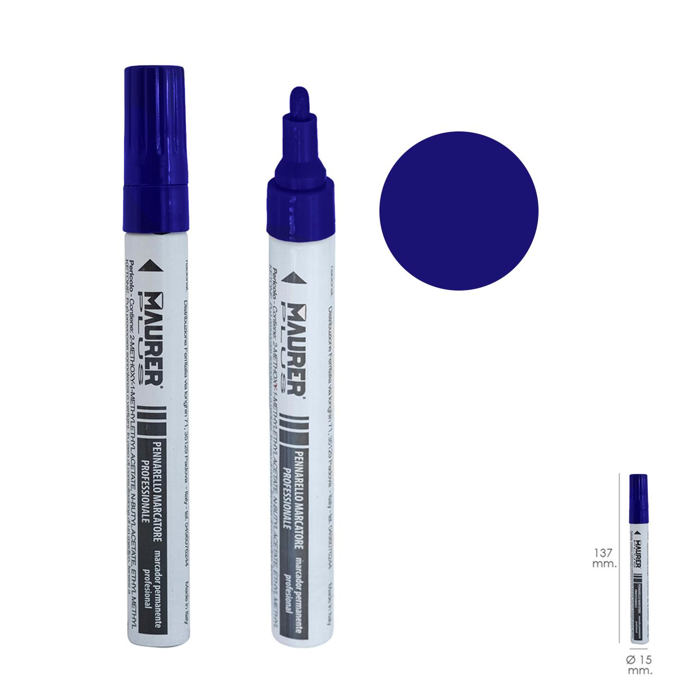 Rotulador Marcador Obra Profesional Pintura Permanente Azul Oscuro