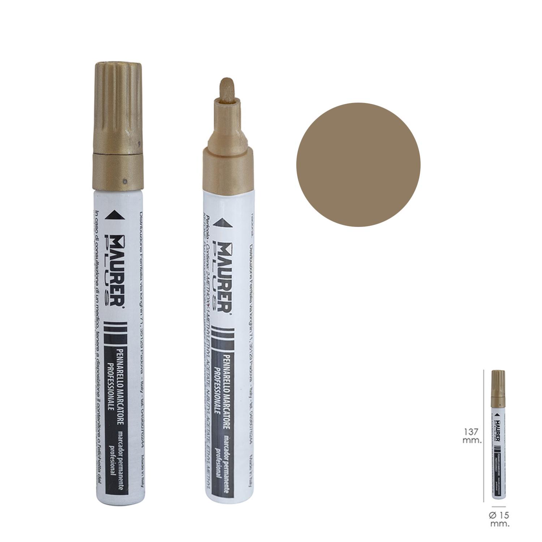 Rotulador Marcador Obra Profesional Pintura Permanente Oro