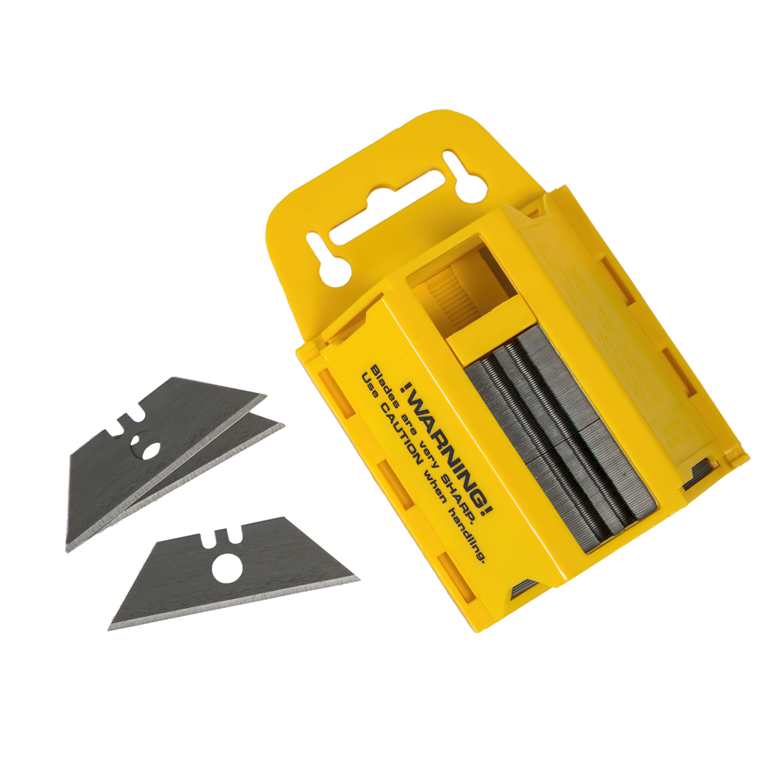 Hoja Cuchillo Maurer Recta 59x0,6 mm. (Dispensador 100 Piezas)