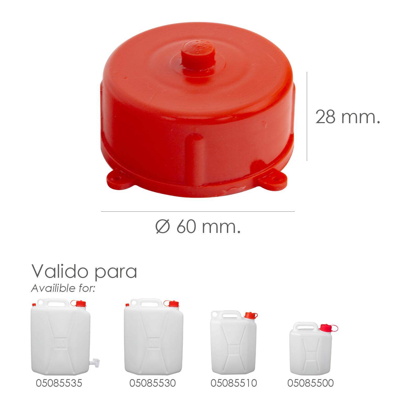 Tapon Para Bidon Alimentario  5 / 10 / 20 Litros
