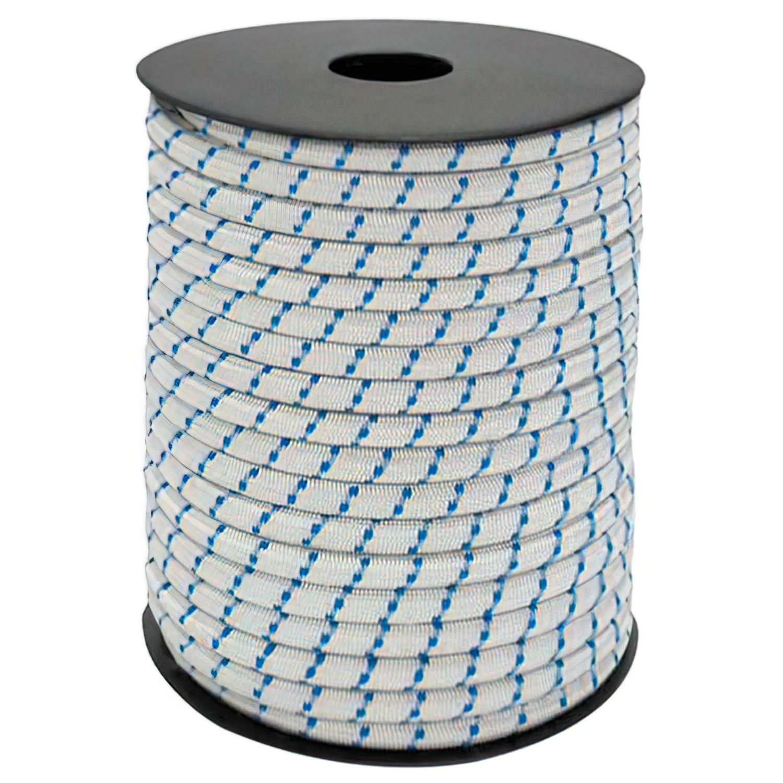 Cuerda Elástica Forrada    6 mm. Rollo de 100 metros
