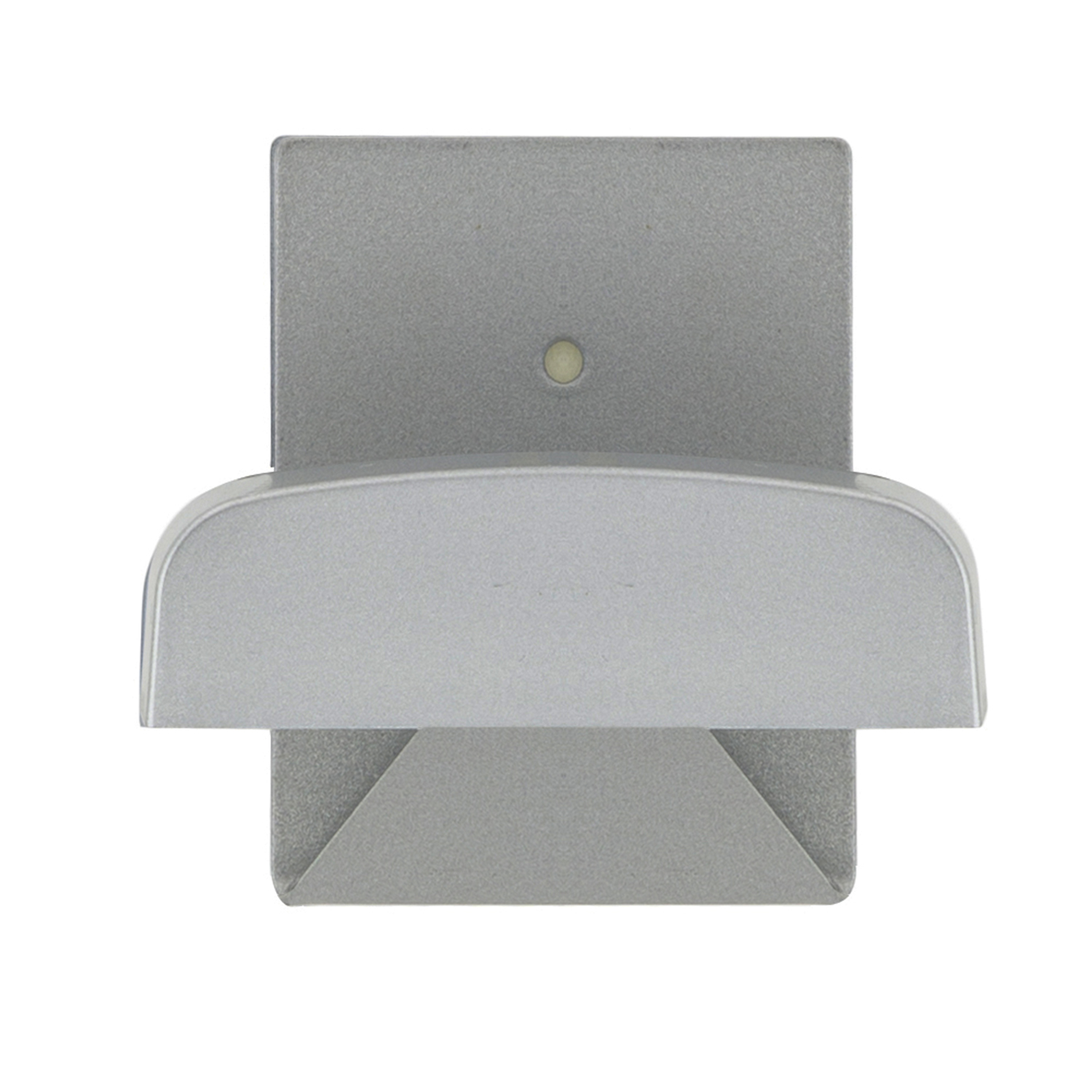 Colgador Percha Adhesivo Acero Inoxidable Color Gris