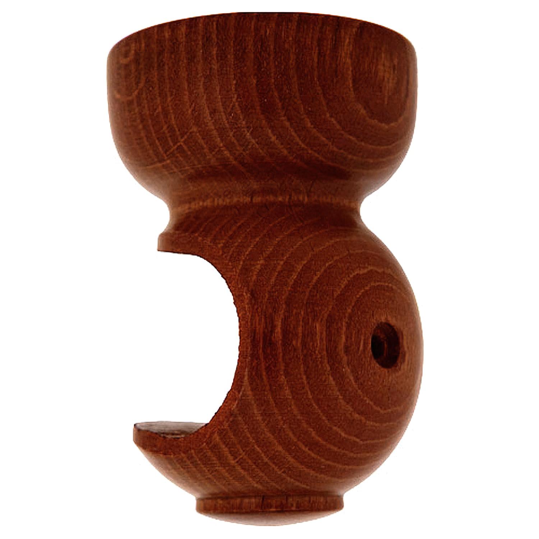 Soporte Madera Liso Techo 20x 68 mm. Nogal