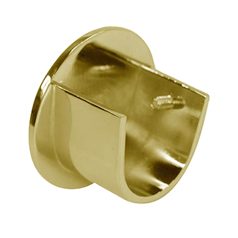 Soporte Zirconio Lateral 20 mm. Bronce Viejo (2 Piezas)