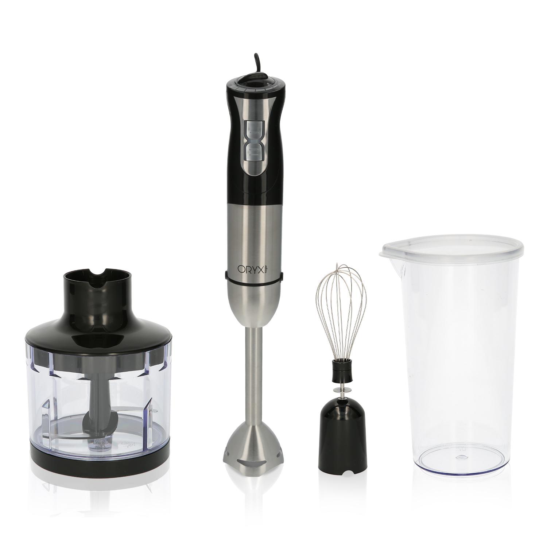 Batidora De Mano, Incluye Accesorios, 1000 W. Velocidad Regulable. Con vaso medidor, picador - tritu