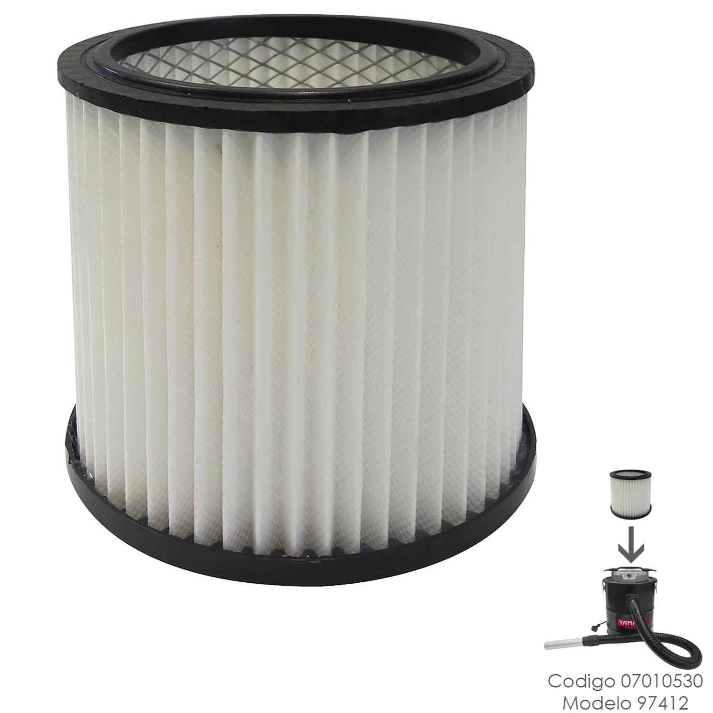 Filtro HEPA Para Aspirador Cenizas Yamato Codigo 07010530 Modelo 97412