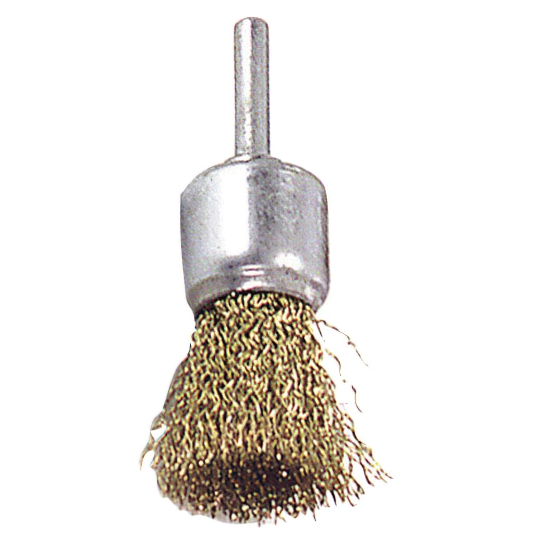 Cepillo Acero latonado Brocha        25 mm. 1/4