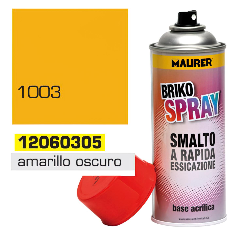 Spray Pintura Amarillo Oscuro Señal 400 ml.