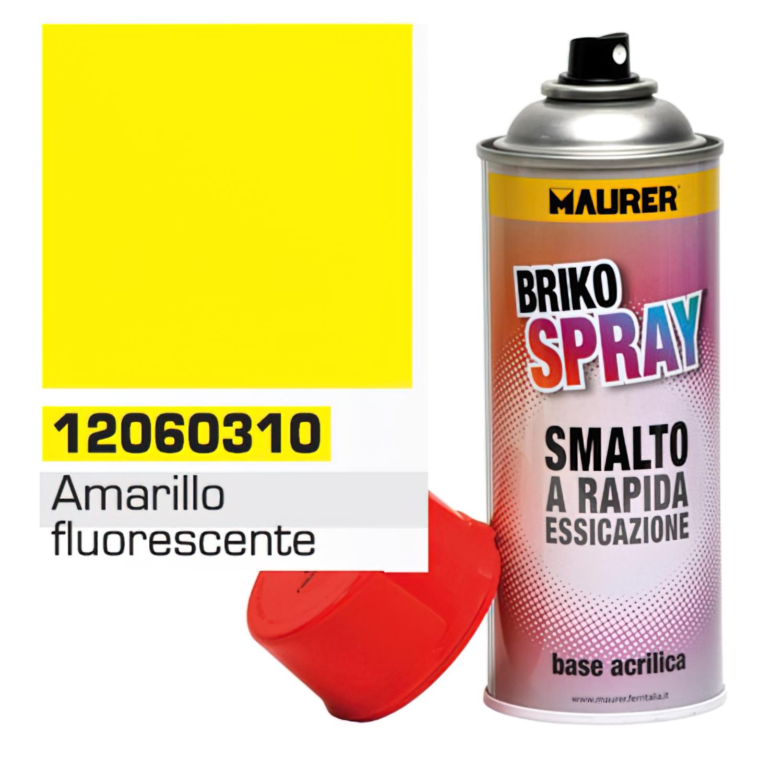 Spray Pintura Amarillo Fluorescente 400 ml.
